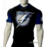 Tampa Bay Lightning Cycling Jersey Short Sleeve TJ-016-1292 New Year Deals