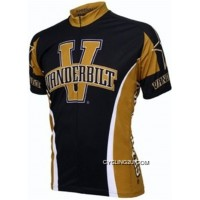 New Style Vanderbilt University Commodores Cycling Short Sleeve Jersey TJ-862-2836