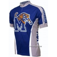 University Of Memphis Tigers Cycling Short Sleeve Jersey Tj-271-5618 Online