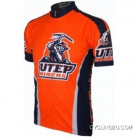 Ut University Of Texas At El Paso Miners Cycling Short Sleeve Jersey(Utep) Tj-533-9270 Online