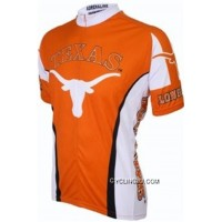 Copuon UT University Of Texas At Austin Longhorns Cycling Jersey TJ-288-1866