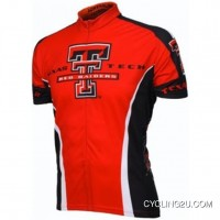 Discount Texas Tech Cycling Short Sleeve Jersey Tj-986-0303
