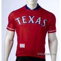 Mlb Texas Rangers Cycling Jersey Bike Clothing Cycle Apparel Shirt Ciclismo Tj-307-6016 New Style