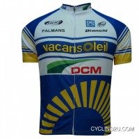 For Sale Vacansoleil-Dcm Pro Cycling 2012 Professional Cycling Team - Cycling Jersey Short Sleeve Tj-819-7688
