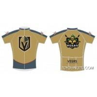 Nhl Vegas Golden Knights Cycling Jersey Short Sleeve Tj-148-3451 Copuon
