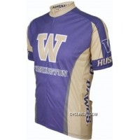 New Year Deals Uw University Of Washington Huskies Cycling Short Sleeve Jersey Tj-846-9898