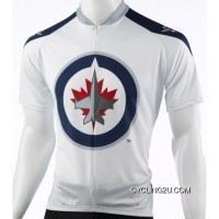Top Deals Winnipeg Jets Cycling Jersey Short Sleeve Tj-208-6226