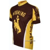 University Of Wyoming Cowboys Short Sleeve Road Cycling Jersey TJ-939-6012 Outlet