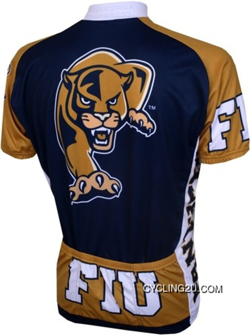 Outlet Fiu Florida International University Panthers Cycling Jersey Tj-119-3174