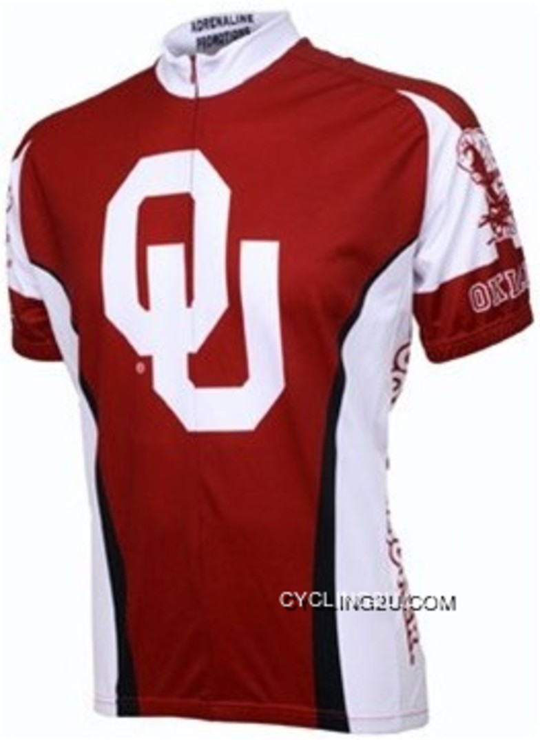 Latest Ou Oklahoma University Cycling Jersey Tj-954-7537