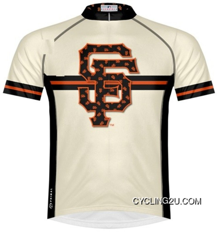 Discount MLB San Francisco GIANTS Cycling Jersey Short Sleeve TJ-082-5192